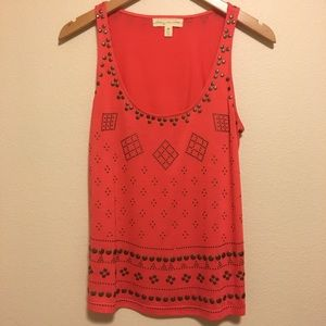 Tank top with Cute Beading